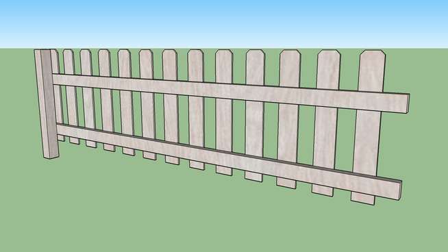 Picket Fence Section