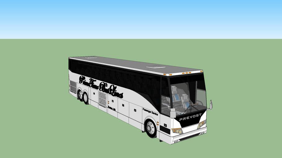 PrimeTime BusLines Prevost Passenger