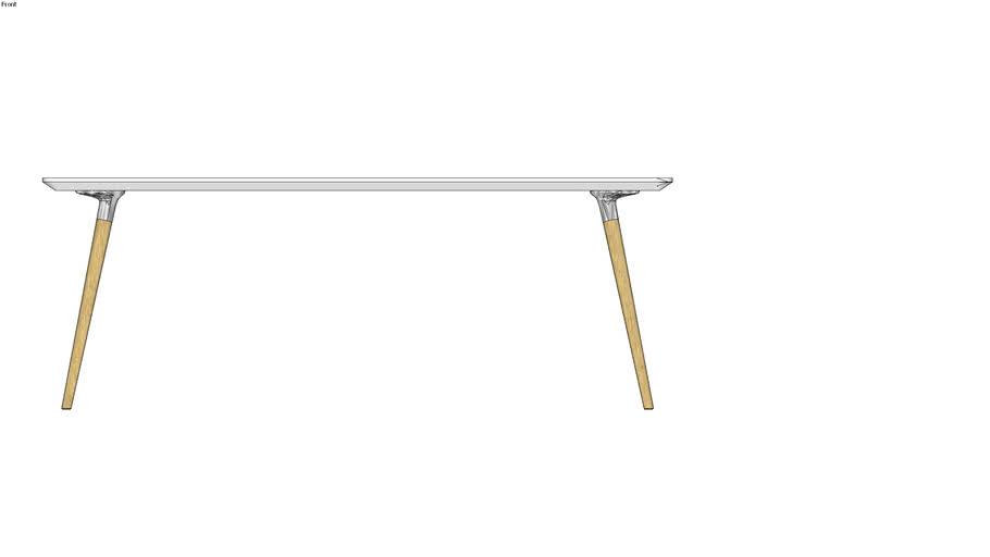 Flux rectangle table 足形长方桌(200x100)