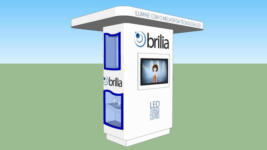 Expositor de produtos LED para ponto de venda