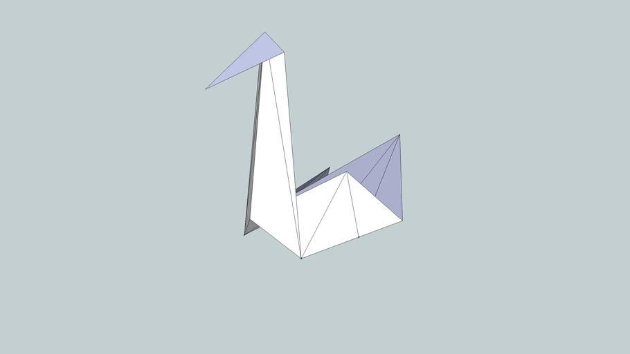 Easy Origami Swan Tutorial | 512x910