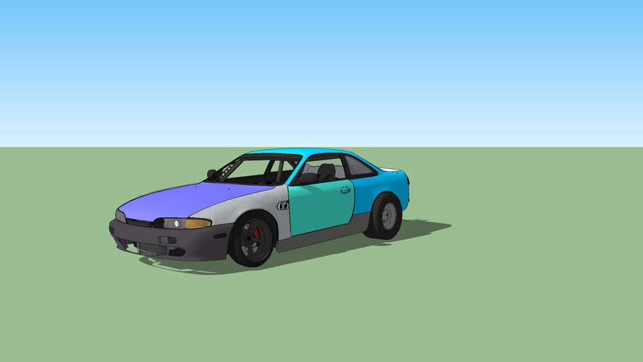 S14 Stage 1 Drag Race Car
