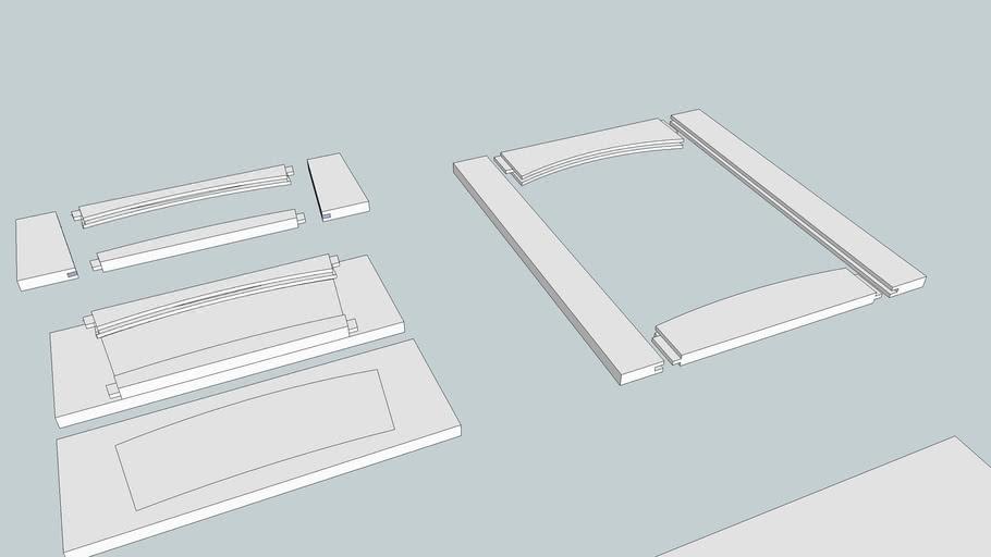 Cabinet Drawer-Door Frames