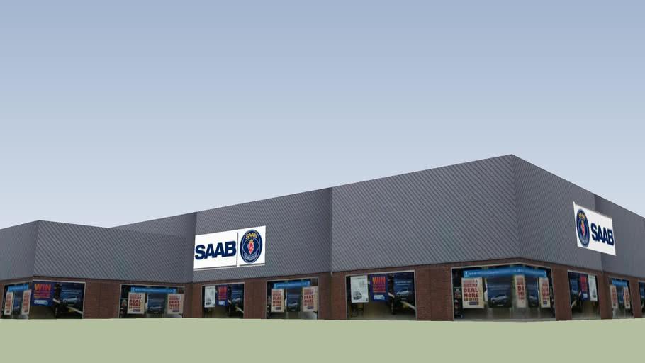 Saab Dealership, Manchester