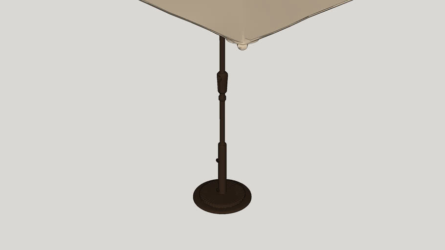 10' x 6.5' Catalina Rectangular Market Umbrella