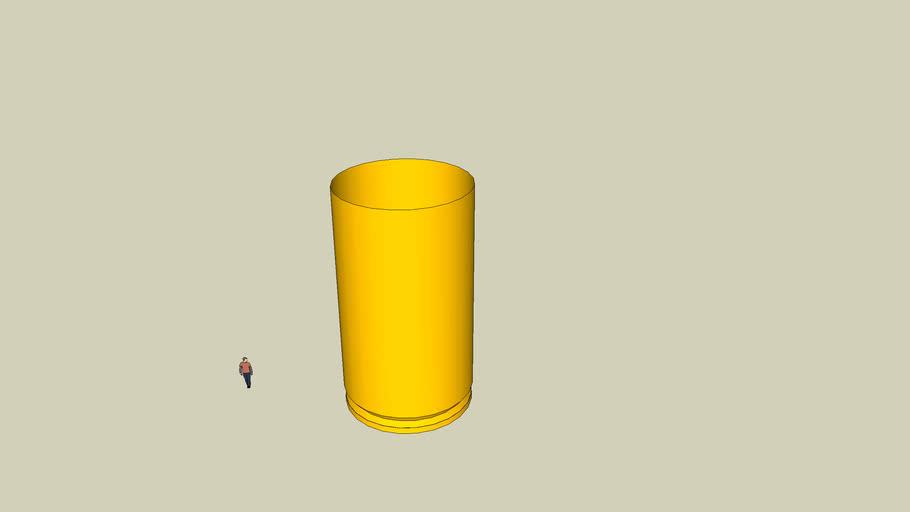 9mm shell (empty)
