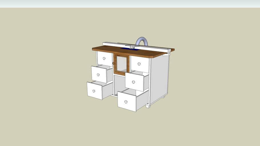 Mesa para router