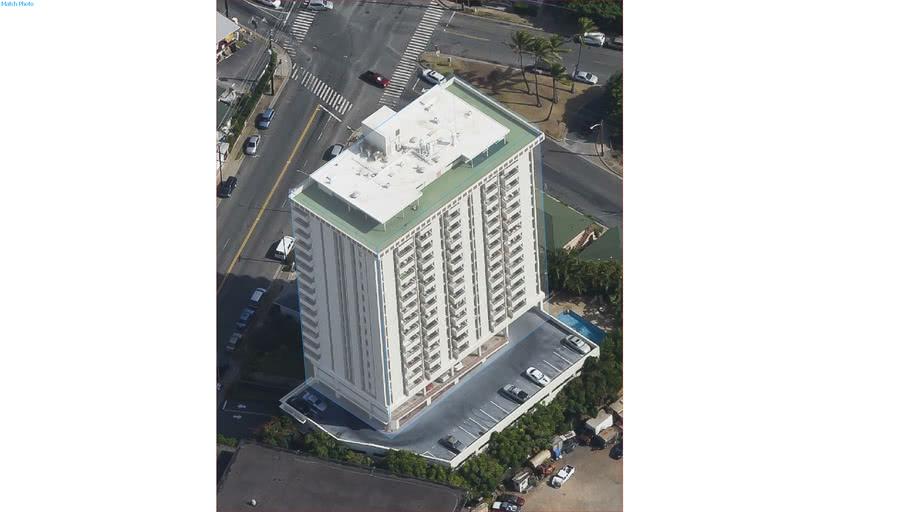 Building in Гонолулу, Гавайи, Соединённые Штаты Америки