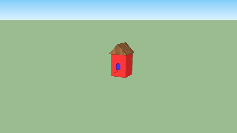 casita de pajaro