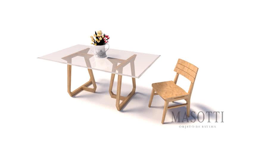 Cadeira MK.807.1 F15