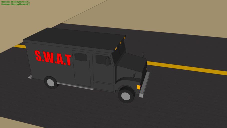 S.w.a.t Truck (sketchyphysics)