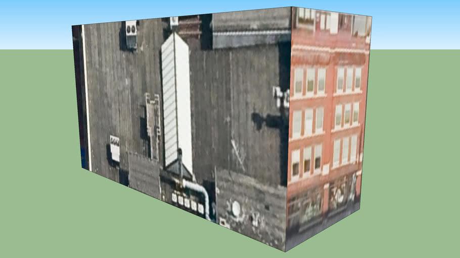 Water Buffalo Restaurant Building in Milwaukee, WI, USA