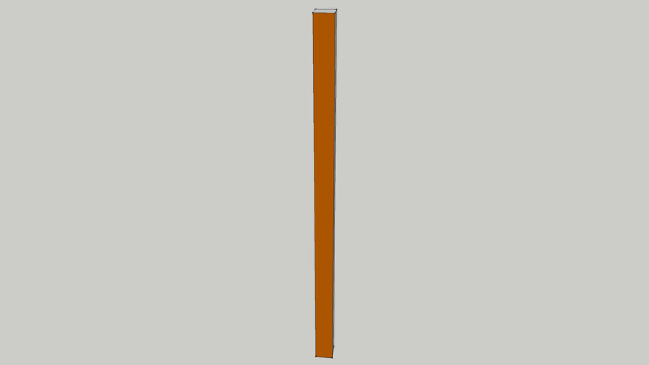 5ft Wooden Fence Post