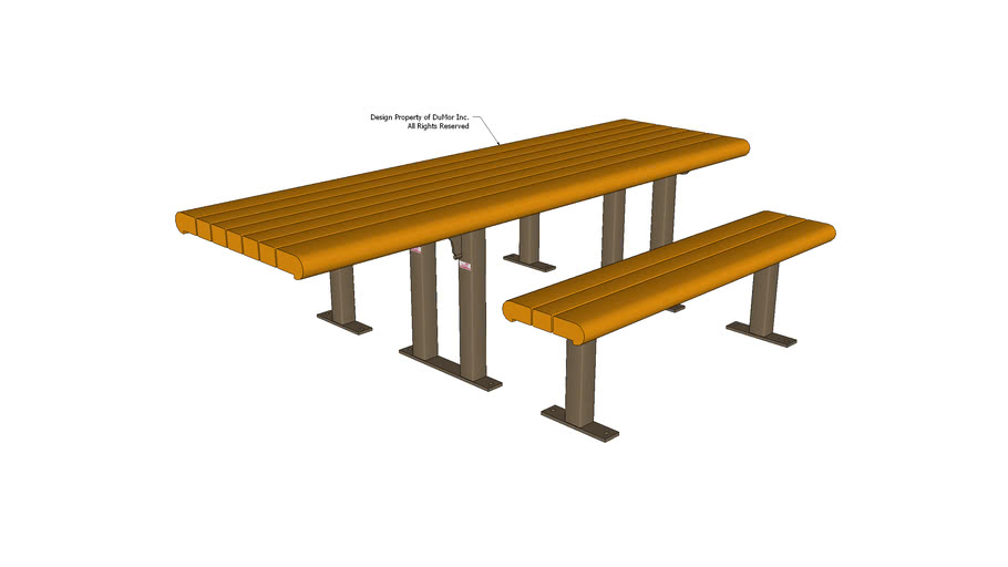 100PL Series Wheelchair Accessible Table