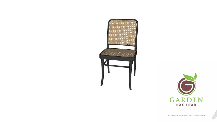 Garden Exoteak - No. 811 Chair By Josef Hoffmann