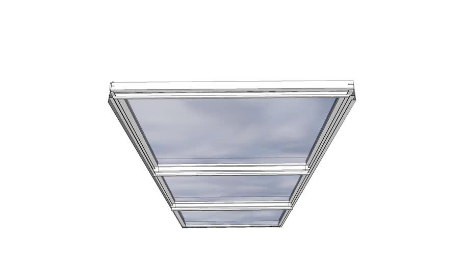 Glasparti 1200x2000 Willab Garden