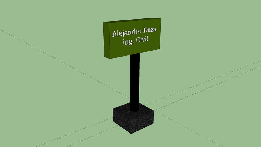 Porta tarjeta Alejandro daza