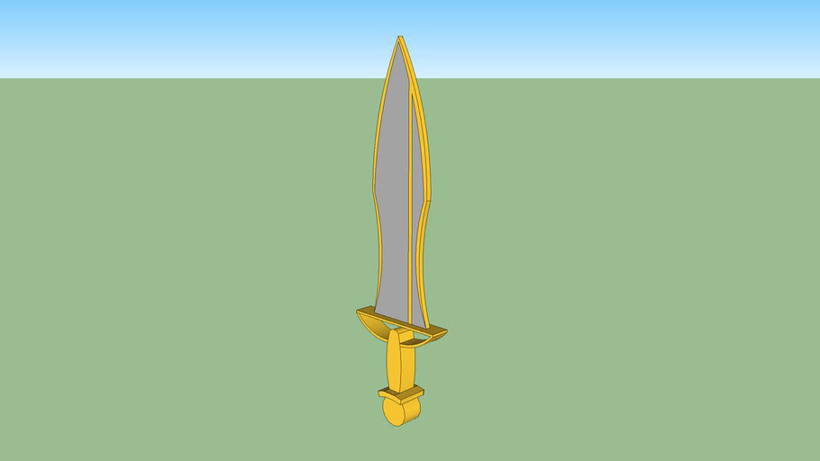 Gold & Silver Sword