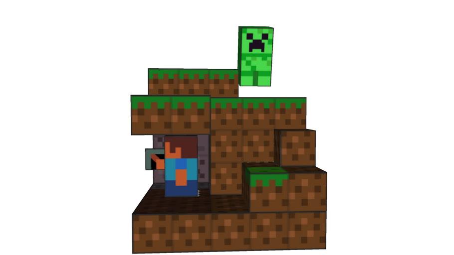 Minecraft Papercraft 3D Model
