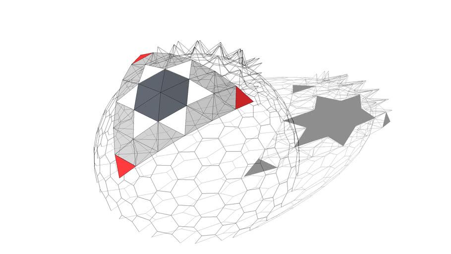 BiMUp 5D - Geodesic Dome 6V Truss