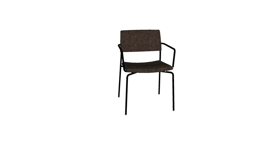 Stilo armchair 复古椅扶手款