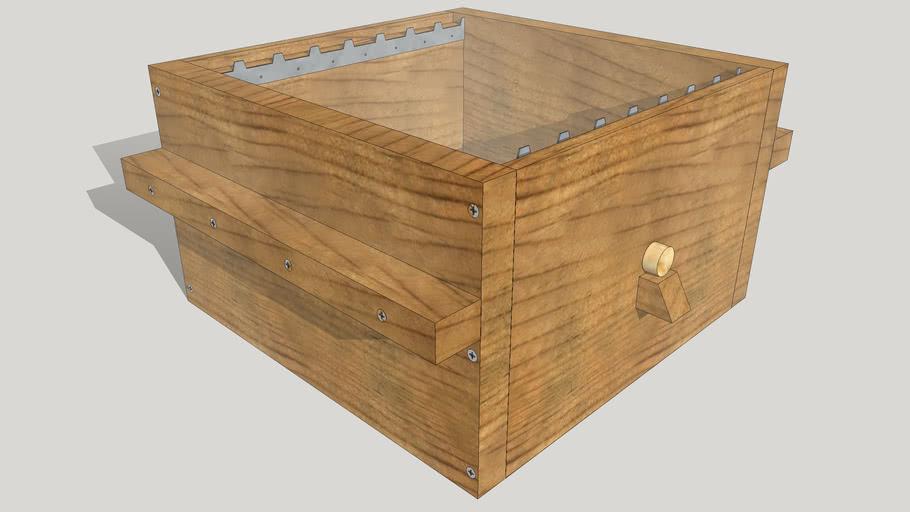 élément de ruche Warré - Warré hive box