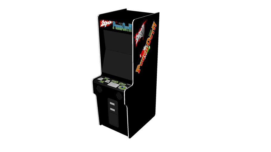 Super Punch-Out!! Arcade Cabinet