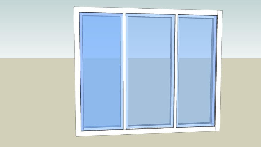 Window 5'x4' glass