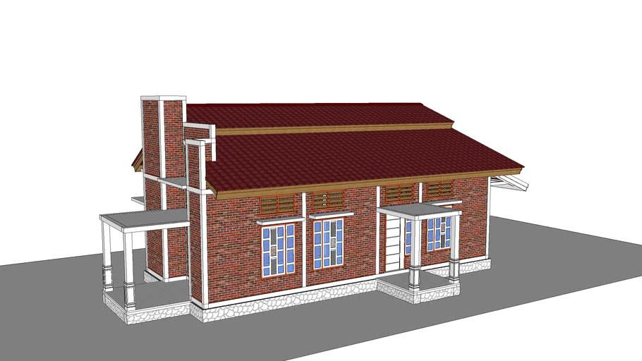 desain rumah tinggal