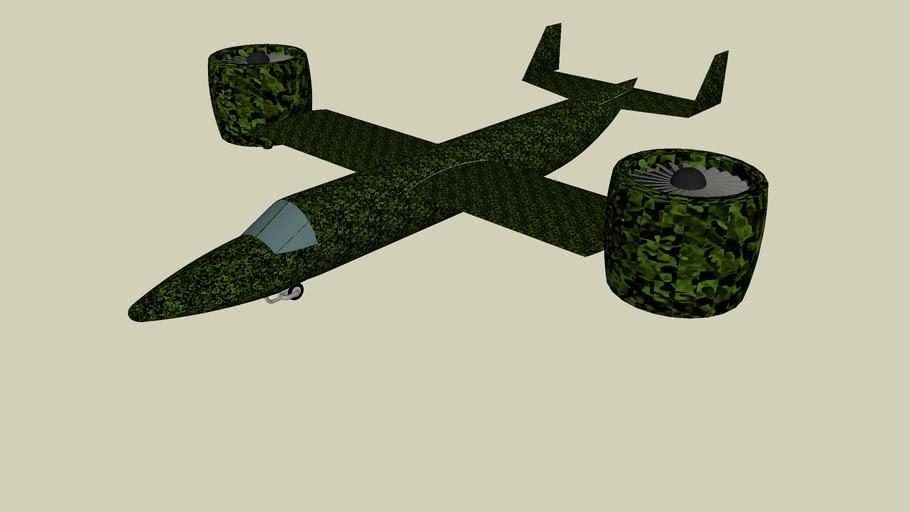 Military VTOL Aircraft (camo)