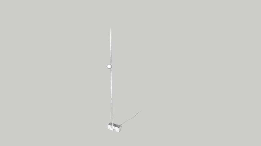 Luminária Adobe (Branco) - Guilherme Wentz
