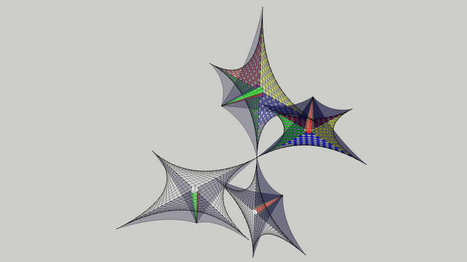 3D String Art 3