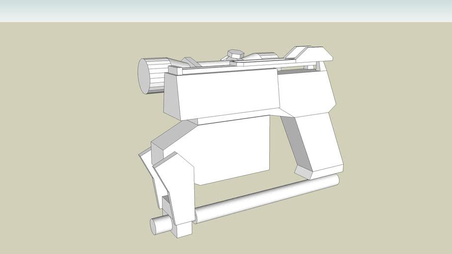 Turok Evolution Pistol