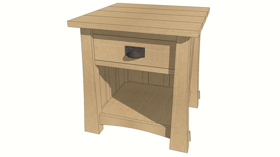 Anniversary End Table