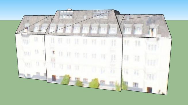 Building in Copenhagen, Danmark