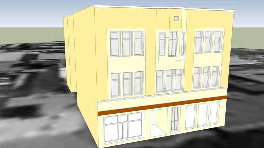 TENEMENT HOUSE ON 24 GDANSKA STREET IN BYDGOSZCZ
