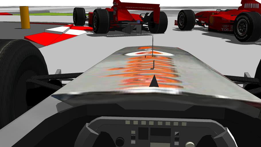 pista F1 barcellona modificata