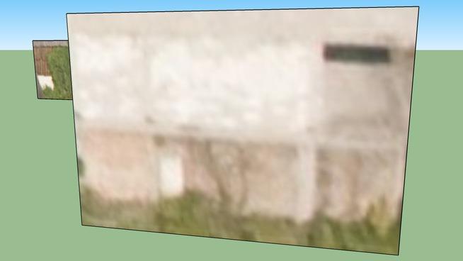Budynek klubowy przy KS Spójnia, nieukończony (trwała rudera)
