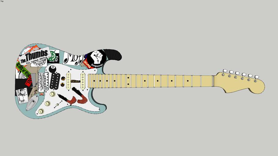 2000 Green Day Billie Joe Armstrong Blue