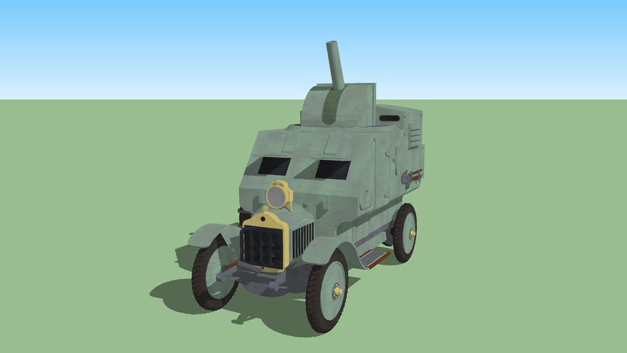 Portuguese Armoured Car - 1902