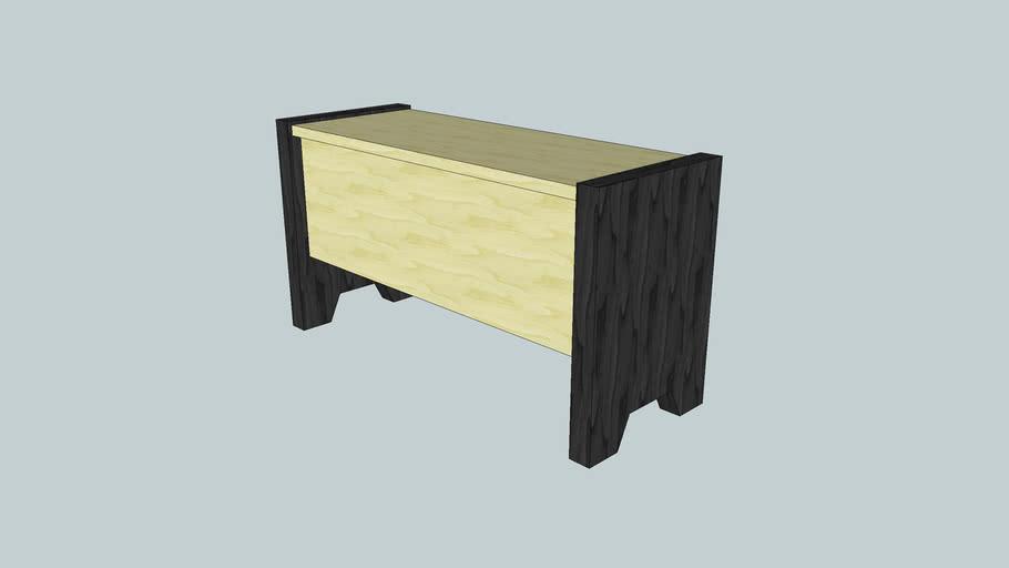 Dimensional Lumber bench