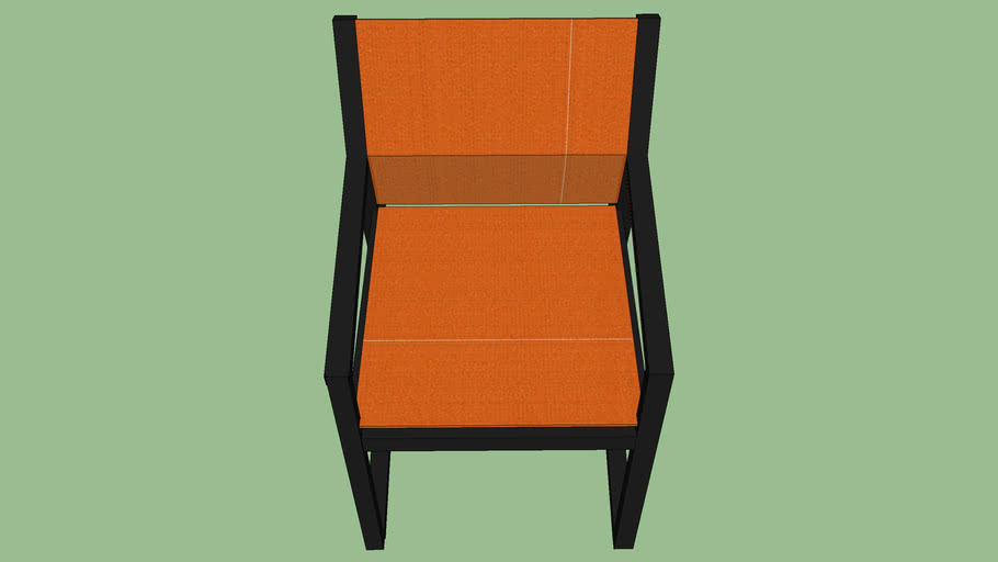 Allux Casual Chair Orange