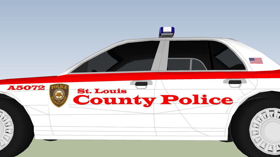 St. Louis County Police Car