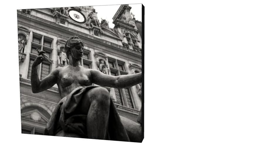 Quadro Dorival Moreira - Coleção Paris: Statue