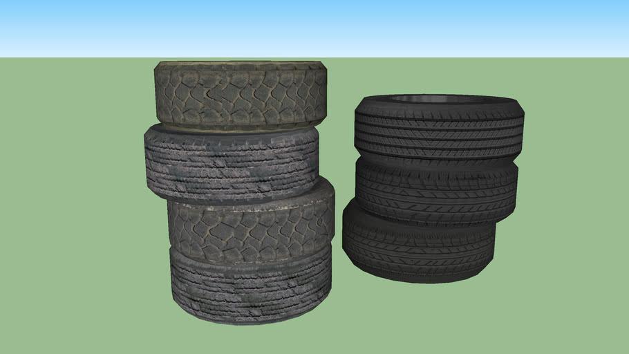 Tyre set