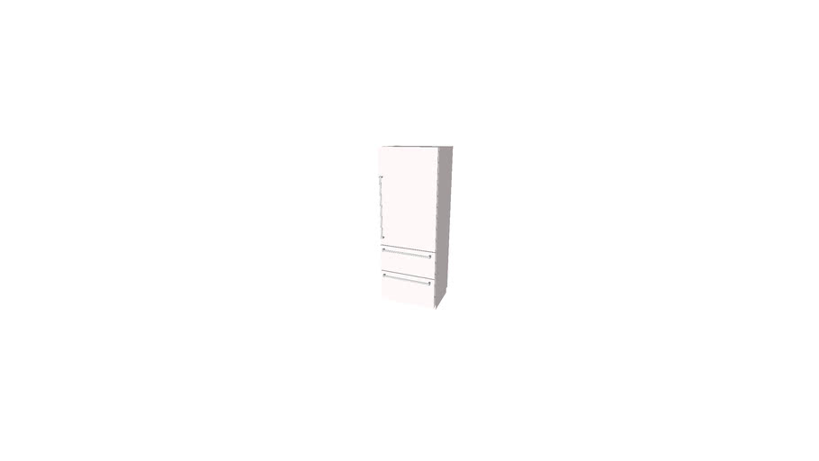 """Sub-Zero IT-30R-RH   30"""" Integrated Over-and-Under Refrigerator - Panel Ready - Right Hinge"""