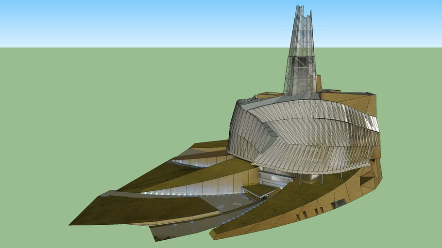 CMHR 3D map
