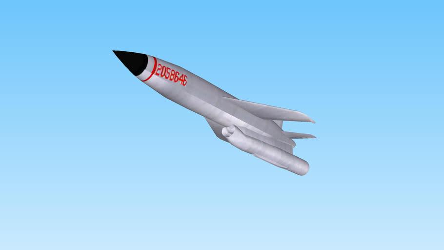 AS-2 (NATO: KIPPER) anti-shipping cruise missile