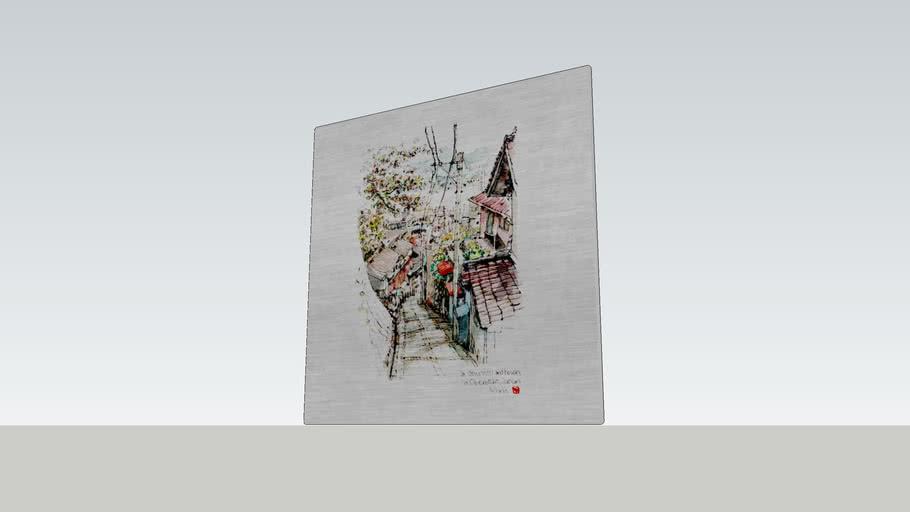 Decor Board AL6061/ 鋁合金裝飾板/illustration by B6速寫男