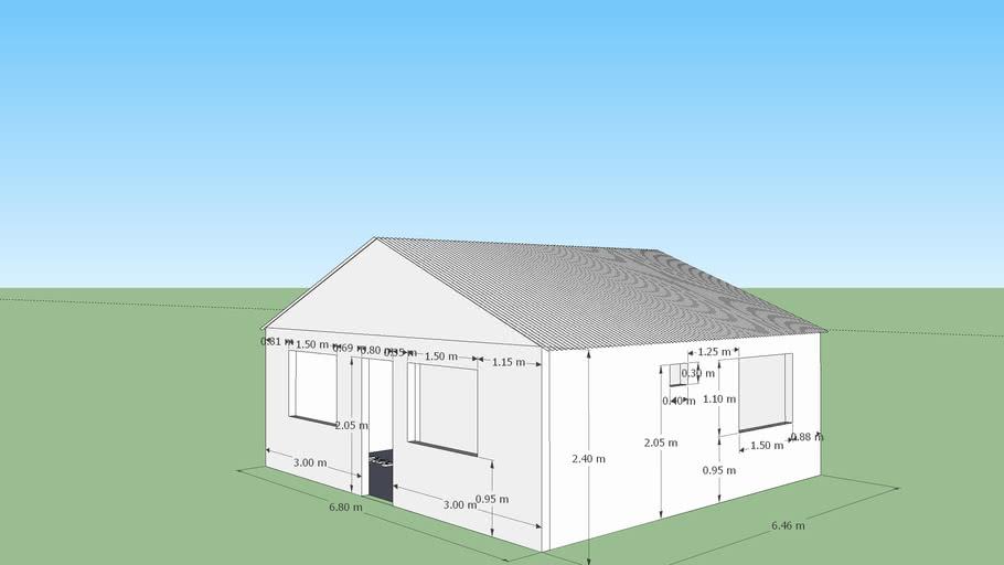 Casa 44m2 construseco